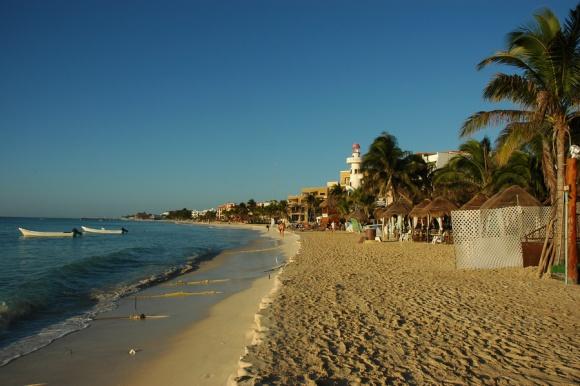 Playa del Carmen, prijetno turistično mestece.