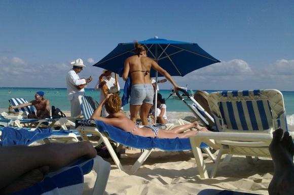 V Playi so plaže vedno polne …