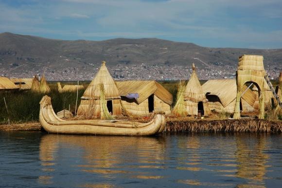 Jezero Titikaka – Morje sredi Andov