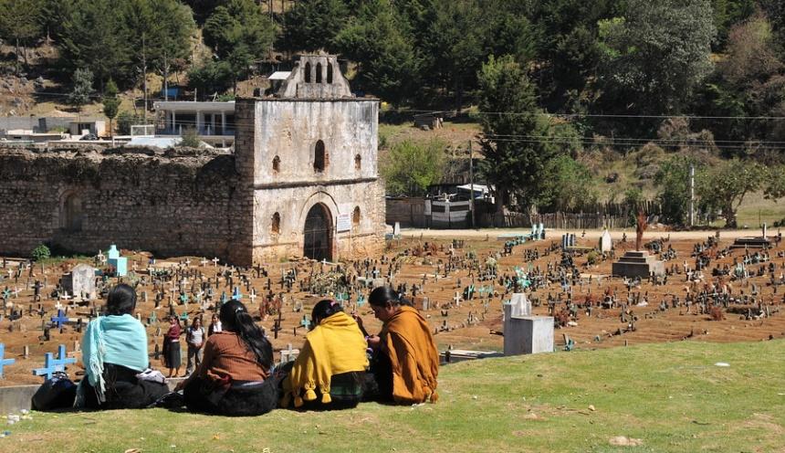 Majevski obredi v mehiškem Chiapasu