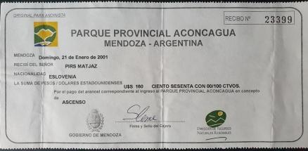 aconcagua permit